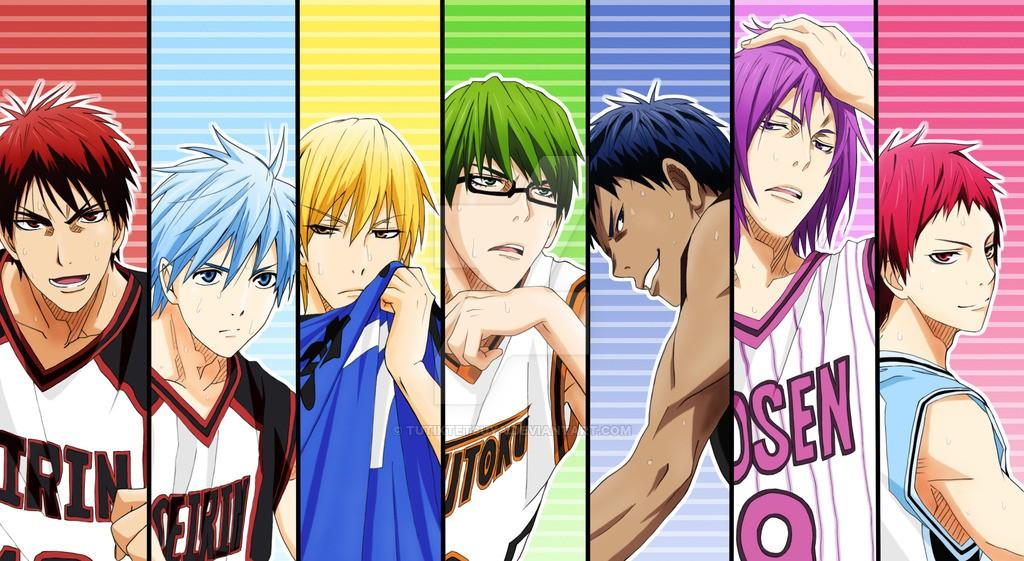 Kuroko no Basket - Trois mots pour un personnage (1)