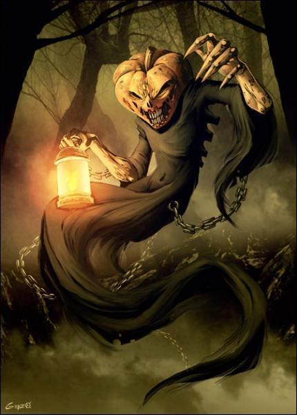 D'où provient la légende de jack-o'-lantern ?