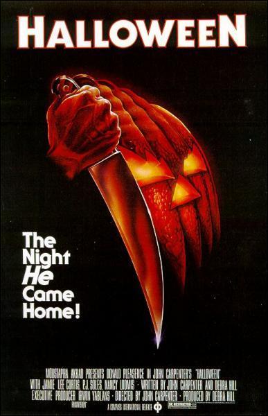 En quelle année est sorti le premier film 'Halloween' de John Carpenter ?
