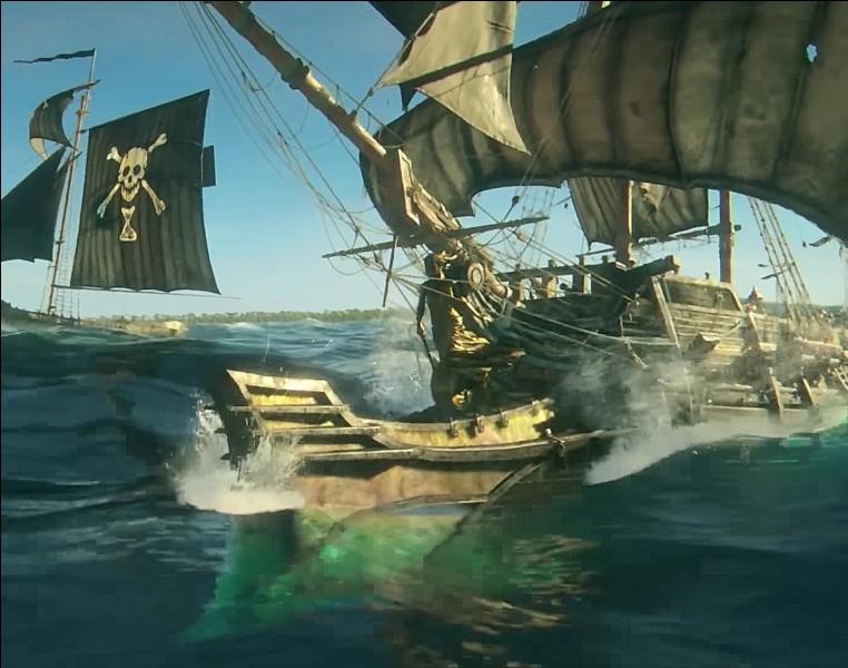Comment s'appelle la construction devant les bateaux, qui défonce les bateaux ennemis ?