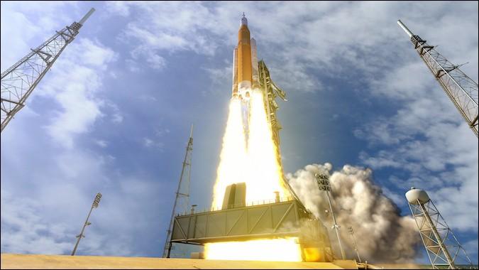 Quel pays va lancer le premier vol de la Space Launch System, Exploration Mission 1 ?