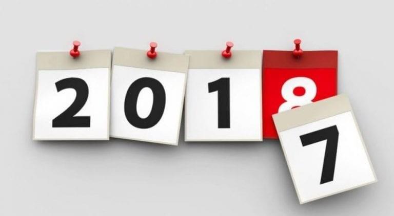 L'année 2018