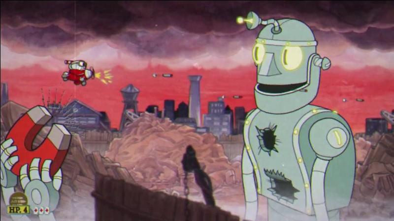 De quel célèbre robot de dessin animé est inspiré ce boss ?