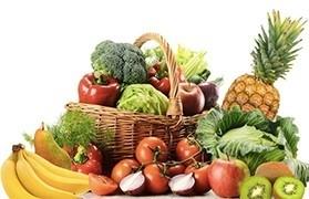 Salades sur les fruits
