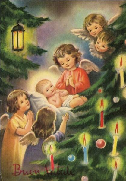 Il occupe une place privilégié dans le temps de Noël.