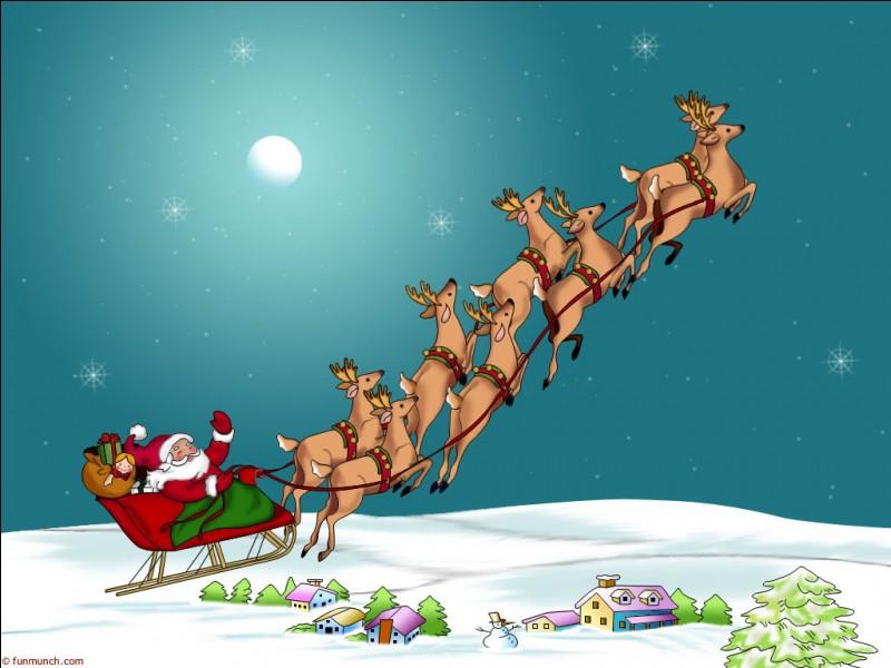 Noël en décembre.