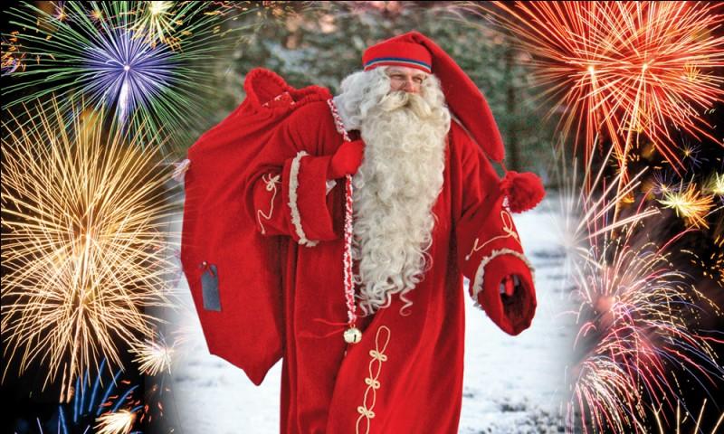 Bagage du Père Noël.