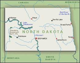 Dans l'État voisin du précédent, le Dakota du Nord, avec quel vêtement ne pouvons-nous pas dormir ?