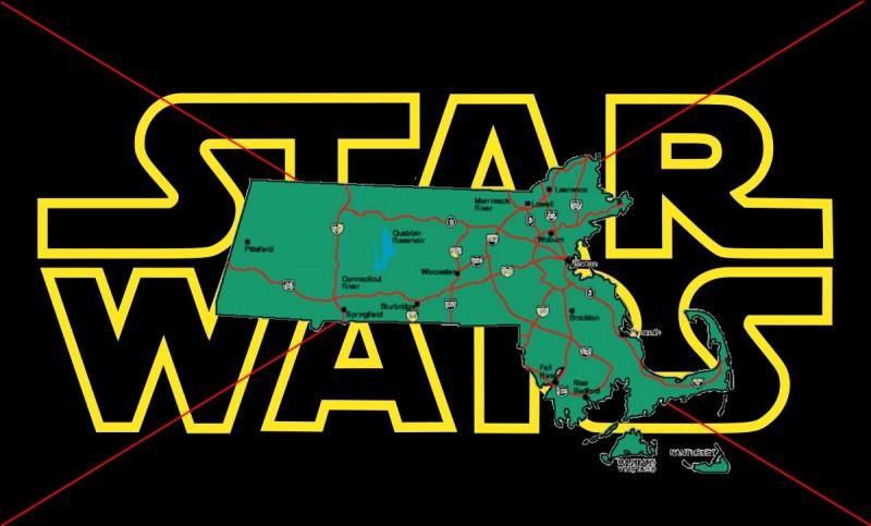 """Restons aux États-Unis pour une loi bonne à savoir si vous êtes un fan de cette saga culte qu'est """"Star Wars"""". Dans le Massachusetts, qu'est-il interdit de porter ?"""