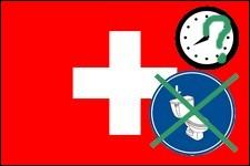 Nos amis les Suisses ont eux aussi des lois bizarres, dont celle-ci : nous n'avons pas le droit de tirer la chasse d'eau après...