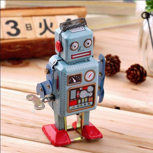 Franky est un robot.