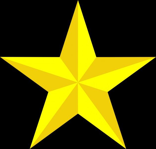 Et enfin, ceci est une étoile.