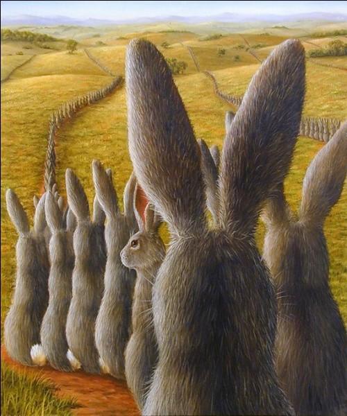 Pour quelle marque de piles, des lapins faisaient-ils la publicité ?