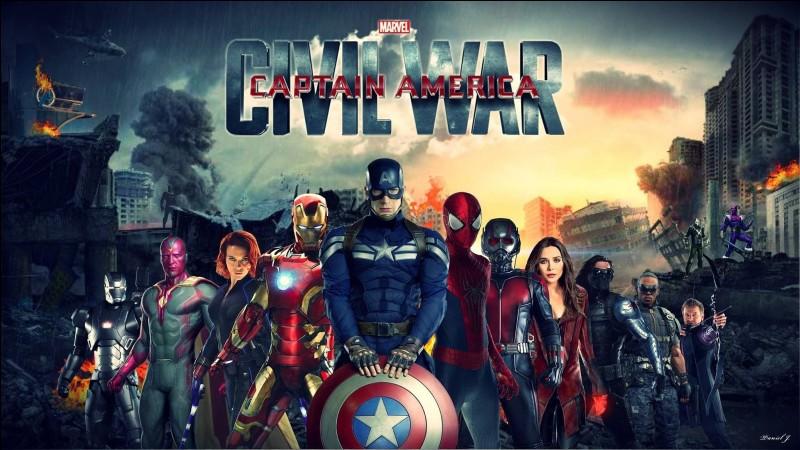 """Qui laisse Steve et Bucky s'échapper dans """"CA : Civil War"""" ?"""
