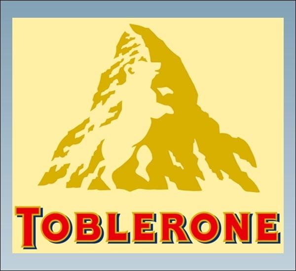 Quelle est l'image cachée dans le logo de Toblerone ?