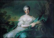 Personne qui entre au couvent pour racheter l'âme de Louis XV, son père, qui est-elle ?