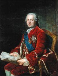 Personne qui sa maria deux fois pour cause de décès de sa femme, qui est-il pour Louis XV ?