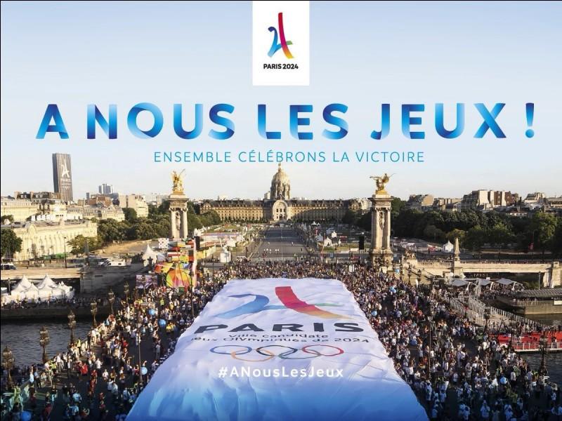 Le 13 septembre 2017, Paris est désignée pour organiser les Jeux olympiques d'été en 2028.