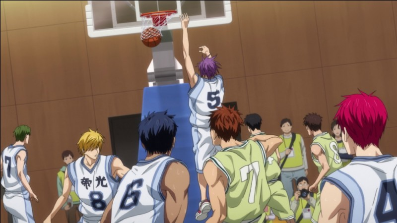 """Lors du match """"Teikô vs Meikô"""", le collège du meilleur ami de Tetsuya, quel était le résultat final ?"""