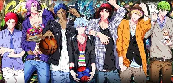 Les matchs dans 'Kuroko no Basket'
