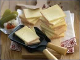 Avec le lait de quel animal fait-on le fromage raclette ?