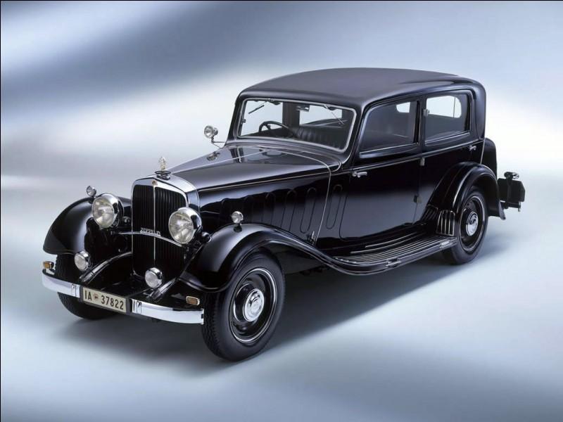 Quelle est cette voiture allemande ?