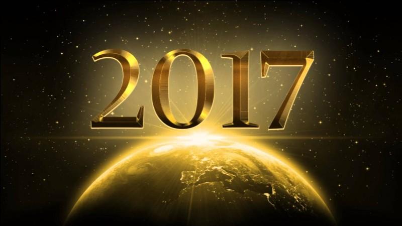 Avez-vous passé une bonne année 2017 ?