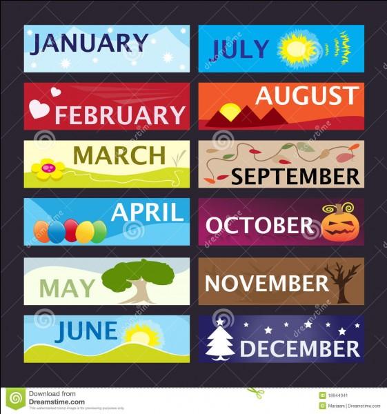 Quel mois préférez-vous ?