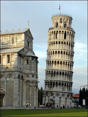La tour de Pise :