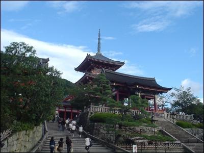 Le Temple Kiyomizu-dera :