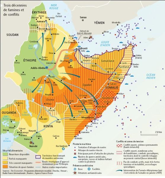 À quel moment l'Islam fut introduit en Afrique de l'est ? (Corne de l'Afrique)