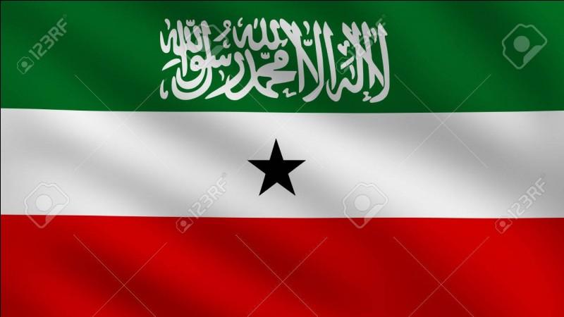 À quel pays non reconnu internationalement appartient ce drapeau ?