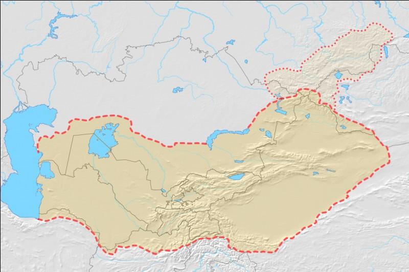 En Asie centrale, la plupart des peuples sont...