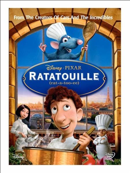 """En quelle année est sorti le DVD """"Ratatouille"""" ?"""