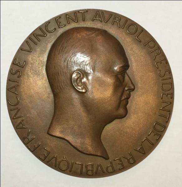 Quel Clemenceau fut opposé à Vincent Auriol lors d'une élection à la présidence de la République ?