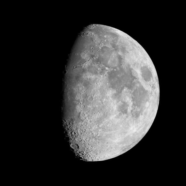 Dans quelle phase est la Lune sur cette photo ?