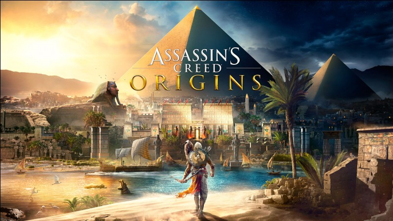 """Quelle est la date de sortie d'""""Assassin's Creed Origins"""" ? (XBox One, PS4 et PC)"""