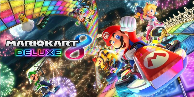 """Quelle est la date de sortie de """"Mario Kart 8 Deluxe"""" ? (Switch)"""