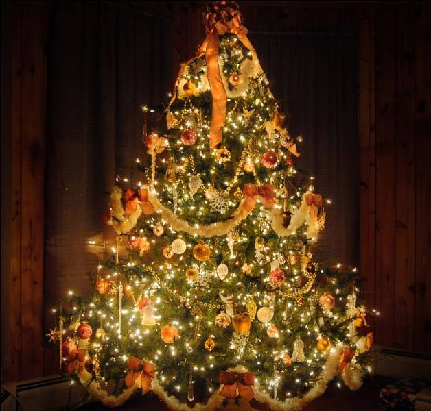 Y avait-il un sapin de Noël dans la ville où tu habites ?
