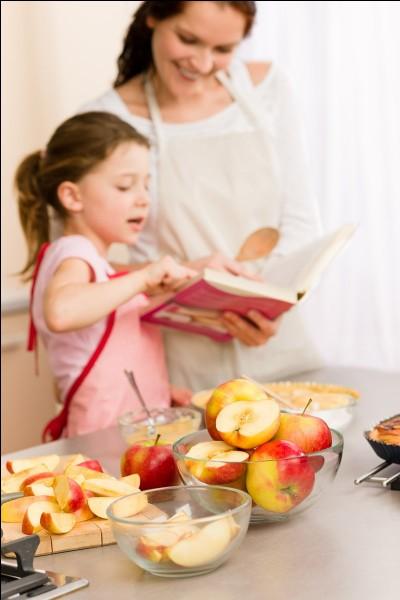 Aimes-tu faire la cuisine avec tes parents ?