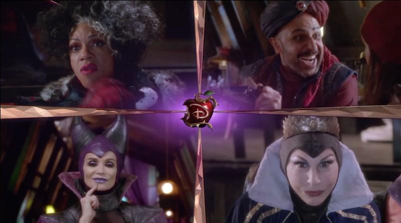 Qui préfères-tu entre ces 4 méchants Disney ?