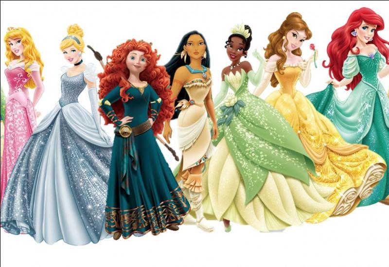 Ta princesse préférée est...