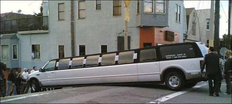 Géographie - Dans quelle ville des États-Unis n'est-il pas recommandé de voyager en limousine ?