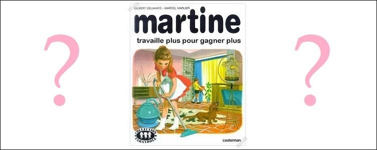 Politique - Sous quelle présidence cet album fictif de Martine aurait-il pu paraître ?