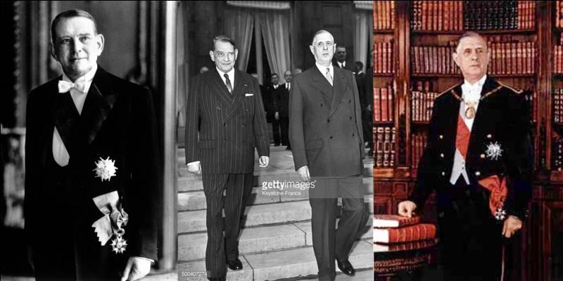 Si je vous dis que le tout premier président de la Ve République a été René Coty. Il fut, également, le dernier président de la IVe République.Que me direz-vous ?