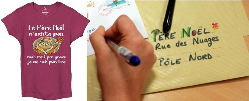 La poste gère un type de courrier bien spécifique, celui du Père-Noël ! Tout se passe en novembre et décembre ! Ce service s'occupe du courrier en provenance de la France exclusivement !Qu'en pensez-vous ?