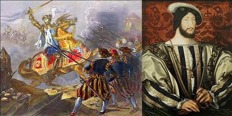 Nous sommes en 1516, cette année-là, on fête deux anniversaires. Il s'agit du premier anniversaire d'une bataille s'étant déroulé à Melegnano et celui du premier anniversaire de l'arrivée sur le trône de François 1e.Quel est votre avis ?