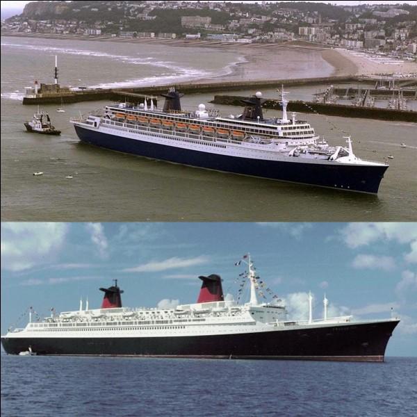Le « Blue Lady » est un des noms que porta un navire nommé « France » construit en 1890.Est-ce vrai, est-ce faux ?