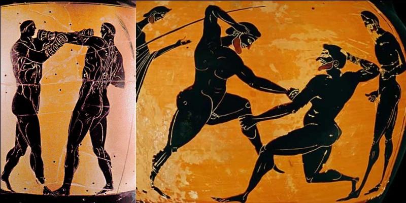 Pour vous réconcilier avec son théorème, sachez que Pythagore aurait participé aux jeux Olympiques antiques dans l'épreuve du pugilat (sorte de boxe anglaise).Qu'en dites-vous ?