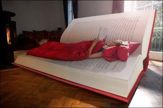Quel est le point commun entre un livre et un lit ?